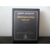 Atari 2600 Championship Soccer