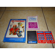 Nfl Football Intellivision Mattel Electronics +++