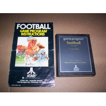 Football ( Atari 2600 ) + Instructivo Original +