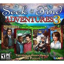 Buscar Y Encontrar Aventuras 3 (4 Game Pack)