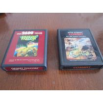 Cartuchos Cassette Atari 2600 Antiguos Vintaje Juegos Retro