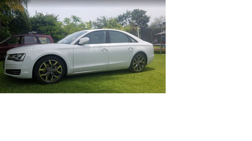 Audi A8 Modelo 2012 Elite Color Blanco
