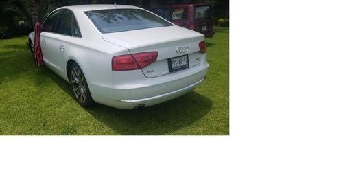 Audi A8 V6 Remato Modelo 2012 Elite Color Blanco