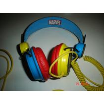Marvel Comics Audifonos Wolverine Coloud