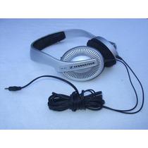 Audífonos Sennheiser Mod. Hd 497 Plateados