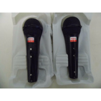 2 Micrófonos Alambricos Dinámicos Profesional Weisre