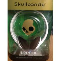 Audífonos Skullcandy Uprock - Blanco/morado - Nuevos