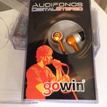 Audífonos Stereo Gowin 3.5 Mm Nuevos Empacados Compatibles