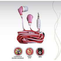 Audífonos Estéreo Dinámicos Conector Universal 3.5 Mm In-ear