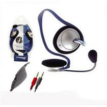 Audifono Multimedia Con Microfono Para Musica Y Multimedia!!