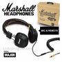 Audifonos Marshall Major Originales Nuevos Café O Negro