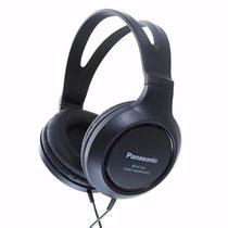 Audifonos Panasonic Rp-ht161e-k Diadema Tipo Dj Negro