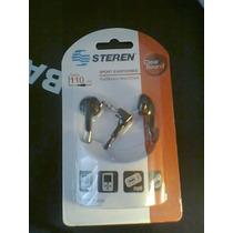 Audifonos Deportivos Steren Cable 110 Cm Bara