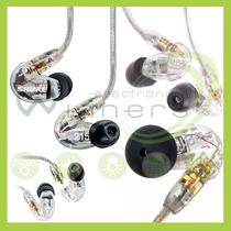 Audifonos Shure Se215 Total Aislamiento De Sonido Winners