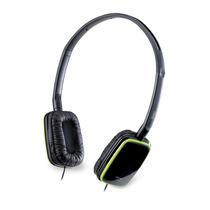 Genius Audifonos 420s Color Negro Con Verde Auriculares