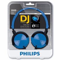 Audifonos Para Dj Philips Shl3000 Azules Nuevos En Caja Blue
