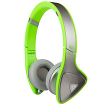 Audifonos Monster Dna Plateado Verde
