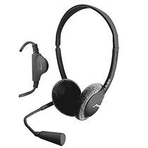 Adífono Diadema Microfono Control Volumen Pc Laptop 18-9050