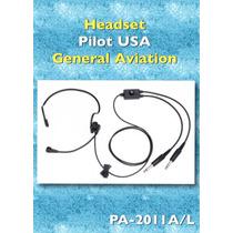 Headset Piloto Comunicación Aviación General Importado