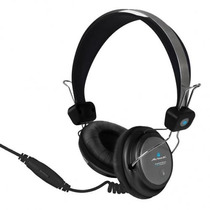 Audífonos Diadema Con Microfono Sound Actek Af-540 Negro