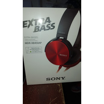 Audifono Sony Mod. Mdr-xb450 Extra Bass/manos Libres/control