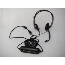 Audífono Plantronics Mod. Dsp 400 Con Micrófono Pra Pc Usb