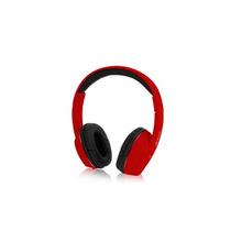 Audifonos Acteck Lvas-105 Hi-fi + Microfono 3.5mm Rojo +c+