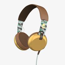 Audifonos Skullcandy Grind Scount Camo Brown Gold Mic 1