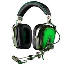 Sades A90 Audifono Estilo Militar Microfono Inalambrico Blak