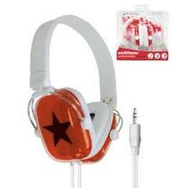 Audifonos Mitzu Estrella Super Calidad De Sonido Y Precio !!