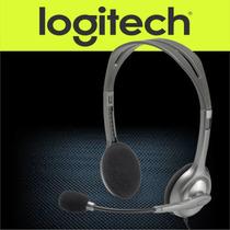 Diadema Con Microfono Logitech H110 Audifonos Alambricos