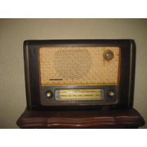 Antiguo Radio De Bulbos Telefunken De 1953 Funcionando