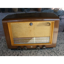 Radio Philips De Los 50`s De Bulbos, Onda Corta, Am