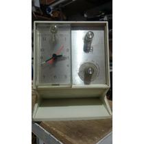 Antiguo Radio Reloj Alarma Arvin Solid State