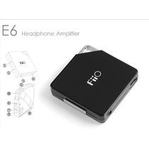 Amplificador De Audifonos Fiio E6