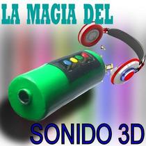 Teléfono Tecnología 3d En Audífonos Y Mp3 Karaoke Y Theater