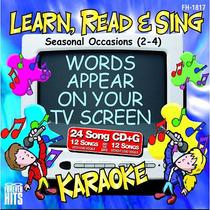 Ocasiones Temporada Karaoke Cd + G