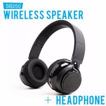 Audifonos Soundbot Sb250 Stereo Bluetooth Wireless Speaker