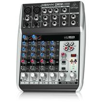 Behringer Q802usb 8-channel Mixer Mezclador Envio Gratis Maa