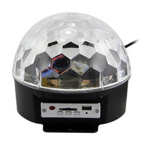 Esfera De Luz Led Disco Estrobo Ball Audioritmica Neonfiesta