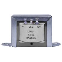 Transformador De Linea Radson Para 25 Y 70 Volts, 5 Watts