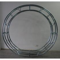 Estructura 20x20 2m Diametr Circular Dj Luces Acero Galvani