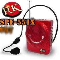 Bocina Diadema Usb Portatil De Carita Microfono Karaoke Reca
