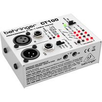 Behringer Ct100 Probador De Cables Xlr 1/4 1/8 Winners