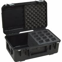 Estuche Para 12 Microfonos Skb 3i2011mc12