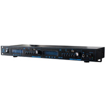 Reproductor Doble Usb Sd Mp3 Wav Wma Montable En Rack