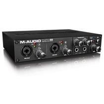 M-audio Profire 610 Interface Firewire Estudio Preamp Octane