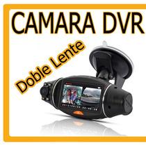 Grabador Para Auto Dvr Hd Doble Camara Con Gps Hm4