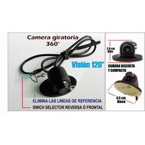Camara De Reversa Y Frontal Angulo Ajustable 100% Hd