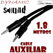 Cable Auxiliar P Iphone Ipod Mp3 Autoestereo Dynamic Sound